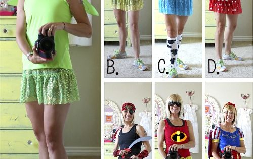 Disney running outfit ideas --Disney Princess half Marathon (Glass Slipper Challenge) Feb.