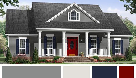 Gray exterior house painting color trend - 7 paint trends to look