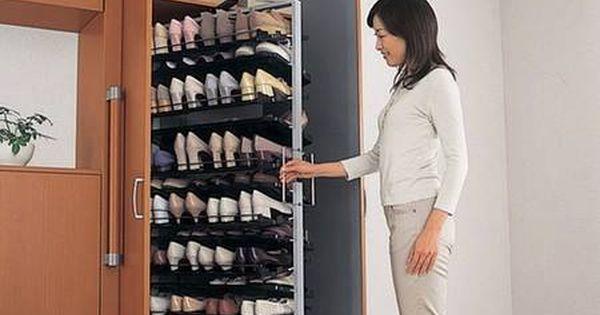 Zapatos en orden closet pinterest organizaci n del - Organizacion armarios ...