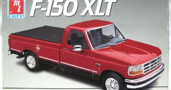 1992 Ford F 150 Plastic Model Cars Model Kit Ford F150