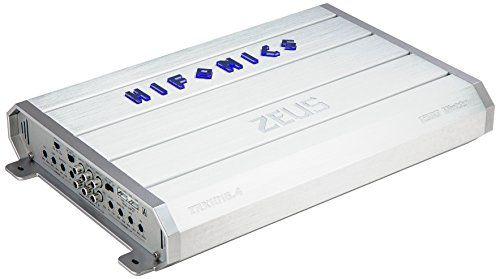 Hifonics ZRX1016.4 Zeus Car Audio Amplifier 4-Channel 1000-Watt