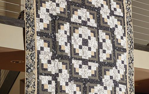 A Formal Affair Quilt Pattern Dp140951 Log Cabin Quilts