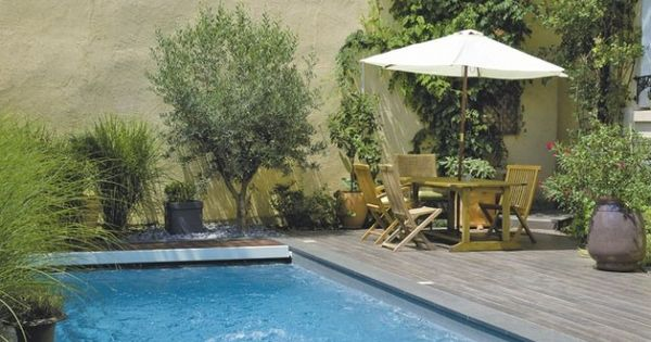 Mini piscine maxi plaisir for Jardin piscine deco