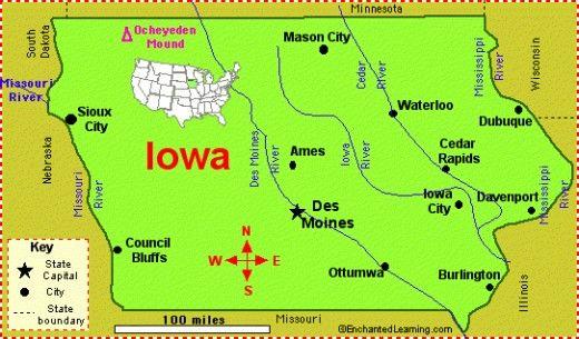 20 Fun Interesting Facts About Iowa Iowa Fun Facts State Symbols