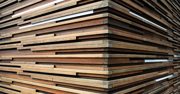 3d Layered Art Below I Love These Wood Slat And Firewood Walls I Found On Flicker 3d