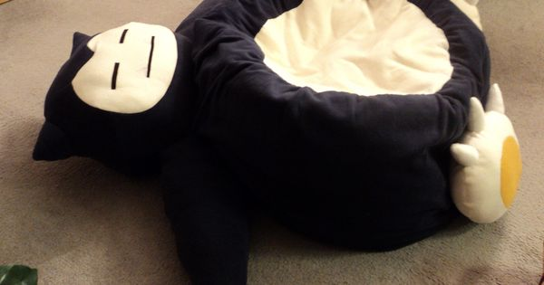 Snorlax cat bed? Or i could make it into a bean bag