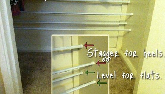 Diy Closet Organization Tension Rods No Drill Easy Need