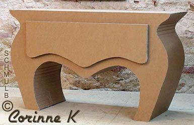 Le Meuble Deco En Carton Resistant Et Durable Karton