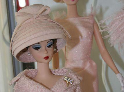 Vintage Pink Barbies