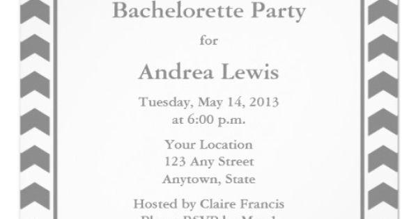 Bachelorette pinterest bachelorette party invites bachelorette