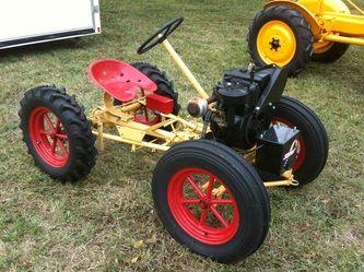 Our Garden Tractors Homemade Tractor Tractors Garden Tractor