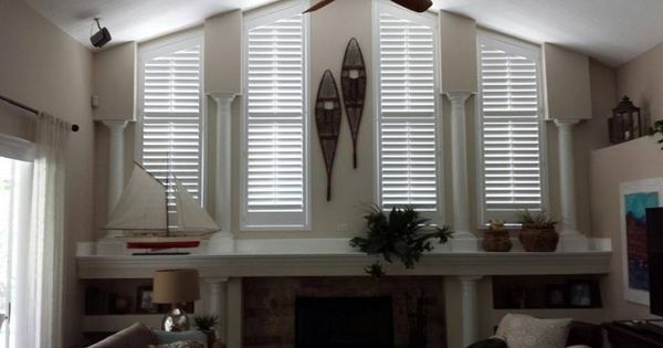 Angle Top Shutters By Budget Blinds Of Greater Tampa