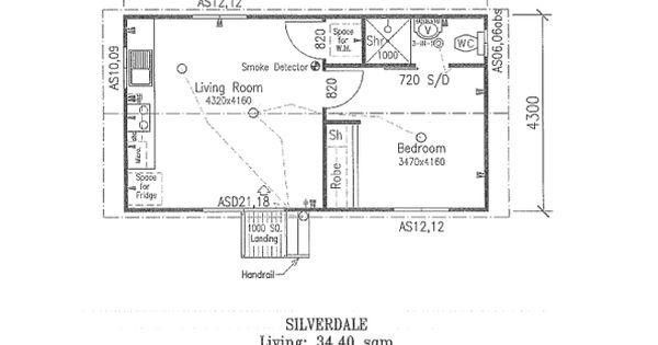 Granny Flat Floor Plans One Bedroom Google Search