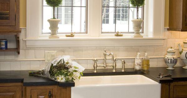 Kitchen windows over sink ideas grand window sill for Kitchen window sill decoration ideas
