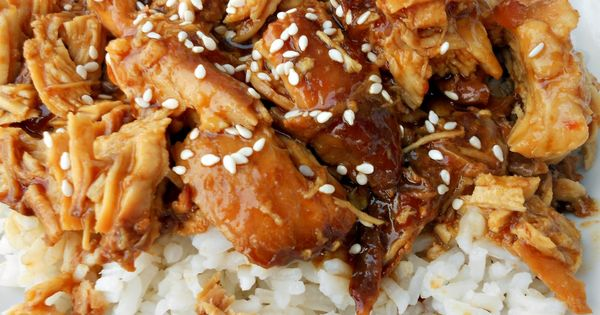Slow Cooker Honey Sesame Chicken Recipe adapted from: Baby Center Ingredients: 4