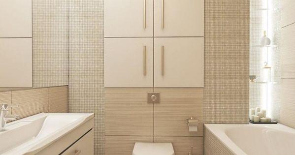 mosaik fliesen in beige und groformatige fliesen in holz optik modern bathroom design pinterest - Bad Design Beige