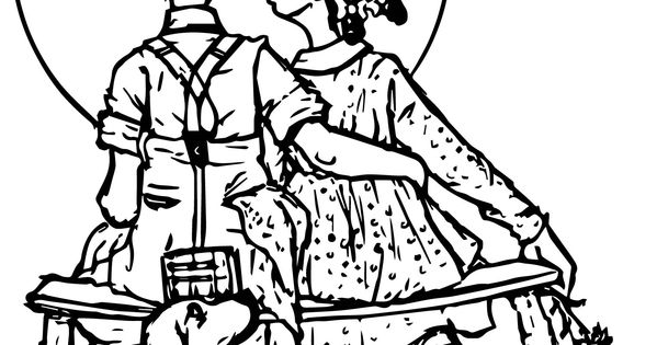 norman rockwell coloring pages - photo#19