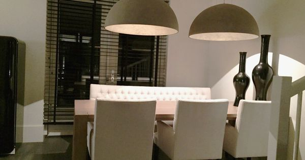 Koepellamp 80cm beton-brons - hanglampen : Pinterest