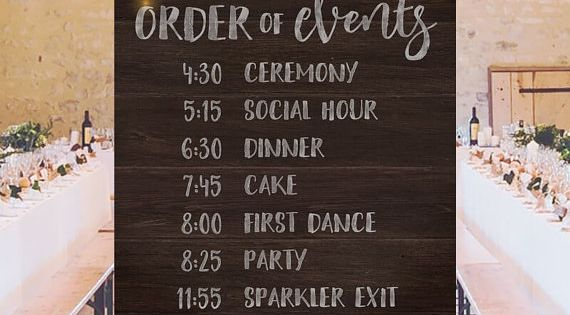 Printable Large Wedding Signs, Rustic Wedding Ideas