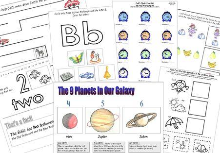 The Catholic Toolbox Free Kindergarten Worksheets Free Kindergarten Worksheets Kindergarten Curriculum Homeschool Kindergarten