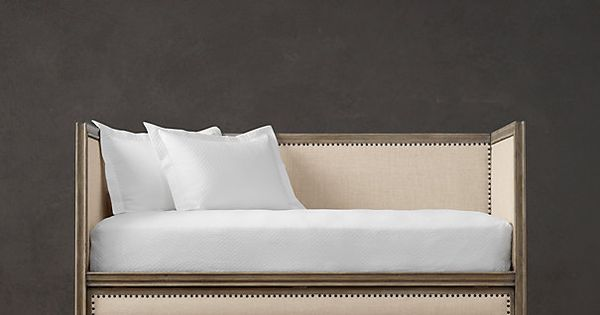 Luna daybed restoration hardware : Daybed with trundle would be nice in our extra bedroom