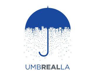Insurance Company With Umbrella Logo