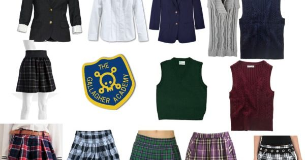 Book Cover School Uniforms : Quot gallagher girls uniform by ejdio liked on polyvore