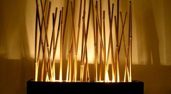 L mpara de estado de nimo de bamb japon s por - Lamparas estilo japones ...