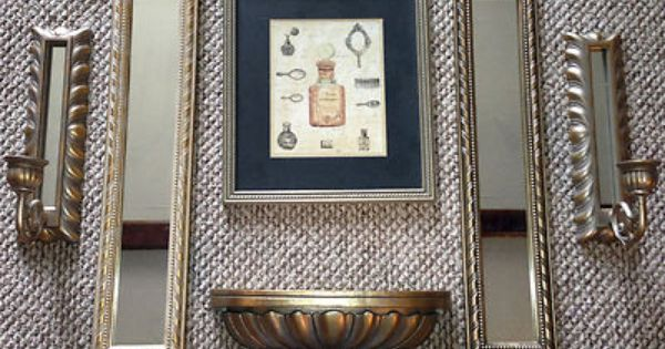Framed prints, Home interiors and Candle holders on Pinterest