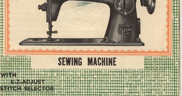 kingston sewing machine manual