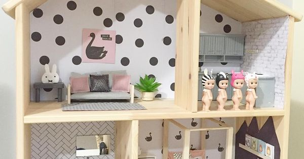 ikea flistat puppenhaus idee kids pinterest ikea kinderzimmer und puppenstube. Black Bedroom Furniture Sets. Home Design Ideas