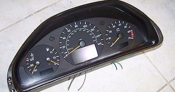 00 02 Mercedes Benz W210 E320 E430 Instrument Cluster 2105401811 Oem Mercedes Benz Benz Mercedes