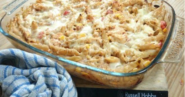 My slimming world chicken chorizo and sweetcorn pasta bake recipe 2 5 syns per person serves Slimming world meals for one person