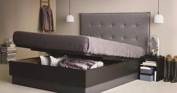 tv lift bett bett tv lift liftbed realisiert in einer. Black Bedroom Furniture Sets. Home Design Ideas