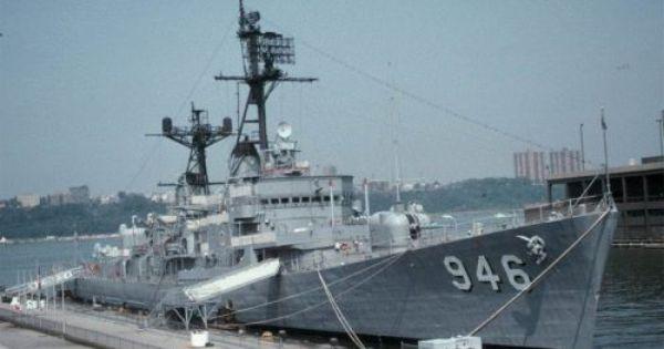Destroyer Uss Edson Bay City Mi Great Lakes Ships Warship Bay City