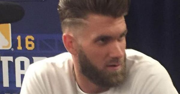 Pin By Jeffrey On Haircuts Bryce Harper Hair Bryce Harper Mens Hairstyles