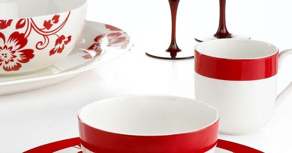 Martha Stewart Collection Dinnerware Chelsea Mix And