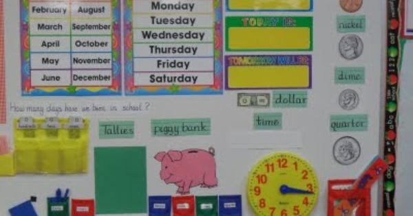 Calendar Math Ideas First Grade : First grade calendar math routine notebook