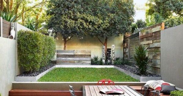 Gartenideen für kleine Gärten - tolle Designvorschläge ...