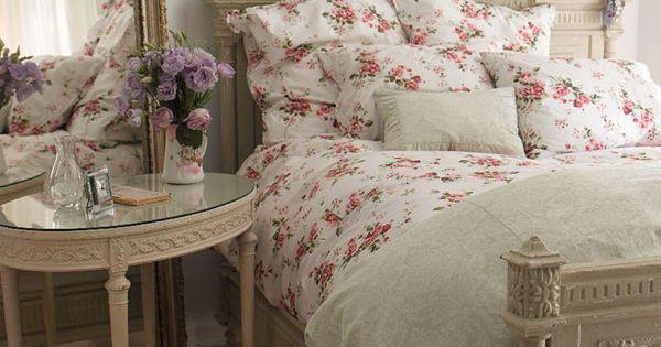Bedrooms in shabby chic style shabby chic bedroom ideas - Habitaciones de ensueno ...