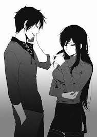 Resultat De Recherche D Images Pour Manga Couple Couleur Durarara Anime Siblings Anime Black Hair
