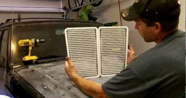 How To Install Hood Vents In A Jeep Cherokee Xj Youtube Jeep