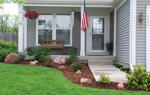 Landscaping Small Front Yard Townhouse : Small front yard landscaping ideas