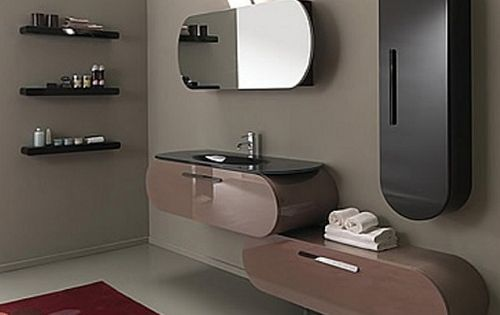 Renkli banyo dekorasyon dolaplar tasar mlar banyo dolabi 3 moda dekorasyonlar moda - Pleasant bathroom designs small bathroom radical change simple remodeling ...