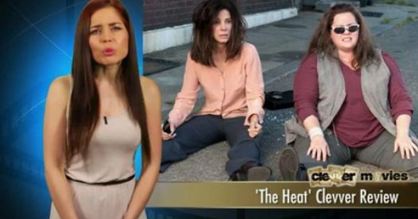 The Heat Clevver Review Video Dailymotion Theheat Heat Movie Sandra Bullock Melissa Mccarthy