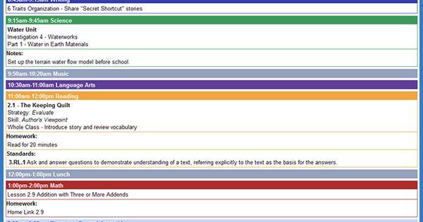 Online Teacher Lesson Planning Technology