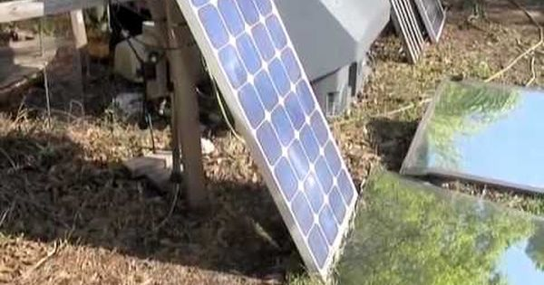 Solar Panel Mirror Booster 30 Increase In Power Output With Mirrors Youtube Solar Panels Diy Solar Panel Best Solar Panels