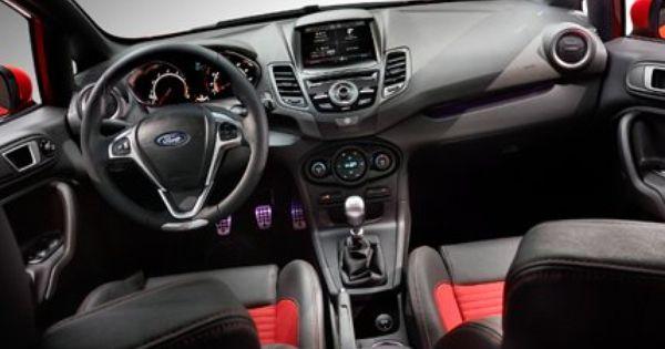 Ford Fiesta St Interior Not A Huge Fan As It S Design Doesn T