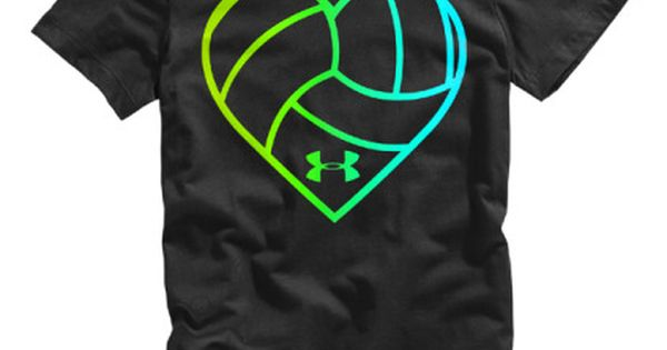 New at All Volleyball! Under Armour Heart Volleyball Graphic T-Shirt! For you Hannah!