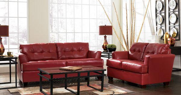 Durablend Scarlet Sofa Loveseat Sofa Loveseat Livingroom Rana Ranafurniture Furniture